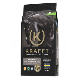 Krafft Performance Low Starch Muesli, 20 kg